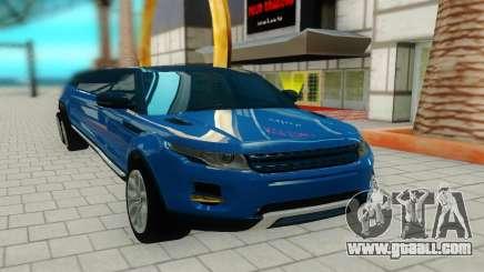 Range Rover 6x6 for GTA San Andreas