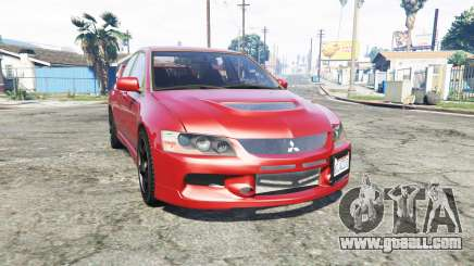 Mitsubishi Lancer Evolution IX [replace] for GTA 5
