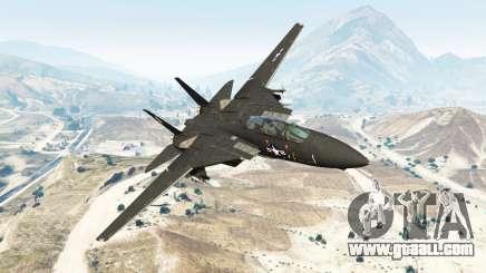 Grumman F-14D Super Tomcat [replace] for GTA 5