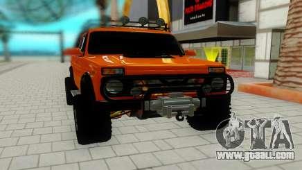 Lada Niva red for GTA San Andreas