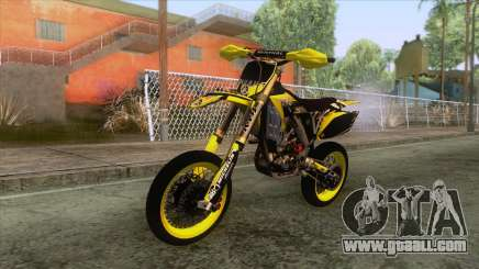 Yamaha YZF-250 Supermoto for GTA San Andreas