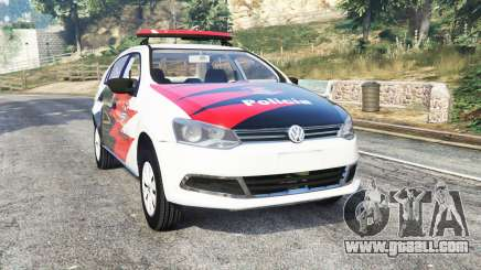 Volkswagen Voyage brazilian police [replace] for GTA 5