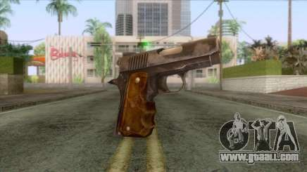 The Last of Us - 9mm Pistol for GTA San Andreas