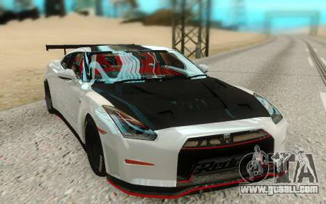 Nissan GTR Nismo for GTA San Andreas