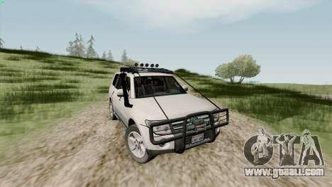 Mitsubishi Pajero v1.2 for GTA San Andreas