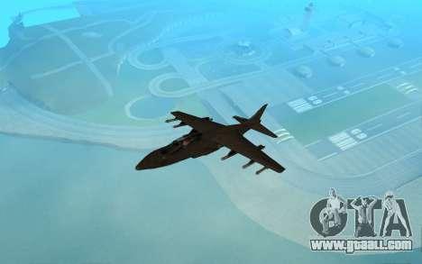 MFR Hydra Black Mamba Concept for GTA San Andreas