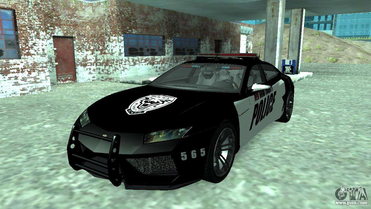 lamborghini estoque concept nfs police custom for gta san andreas. Black Bedroom Furniture Sets. Home Design Ideas
