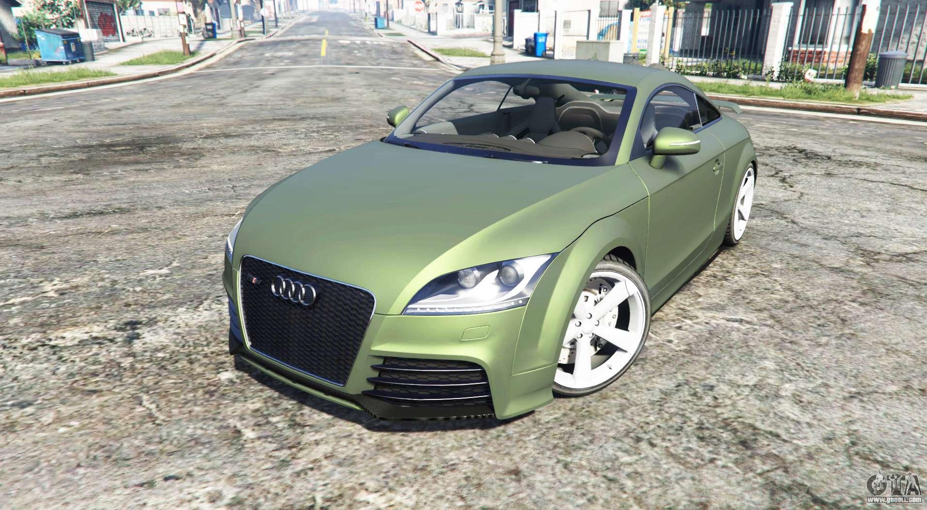 Audi TT RS (8J) 2013 v1.1 replace for GTA 5