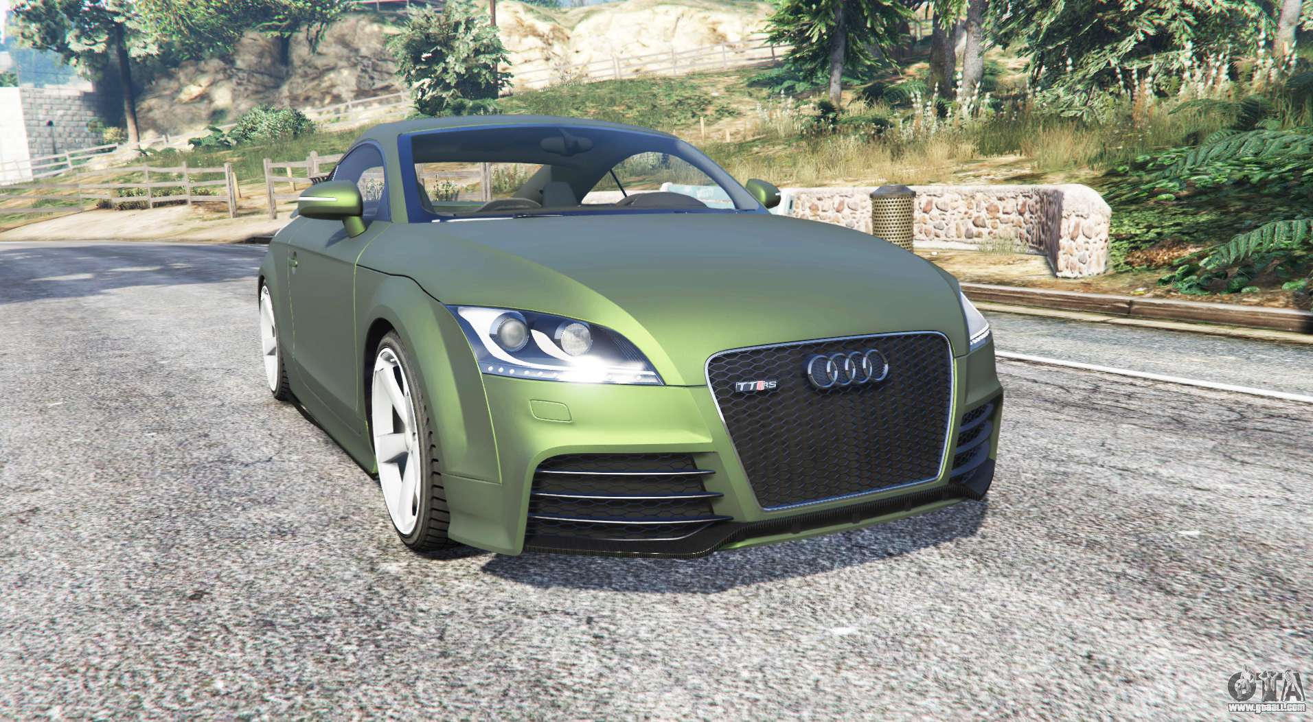audi tt rs 8j 2013 v1 1 replace for gta 5. Black Bedroom Furniture Sets. Home Design Ideas