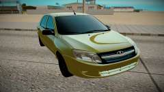 LADA Granta yellow for GTA San Andreas