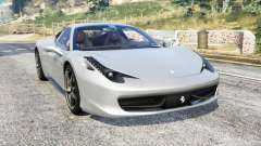 Ferrari 458 Italia 2009 v2.3 [replace] for GTA 5