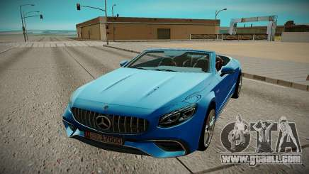 Mercedes Benz S63 2018 for GTA San Andreas