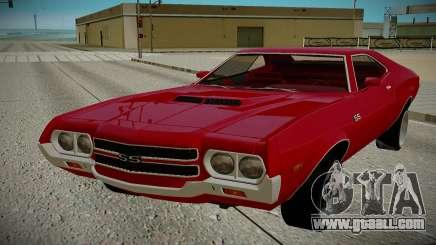 Chevrolet Chevelle 1972 for GTA San Andreas