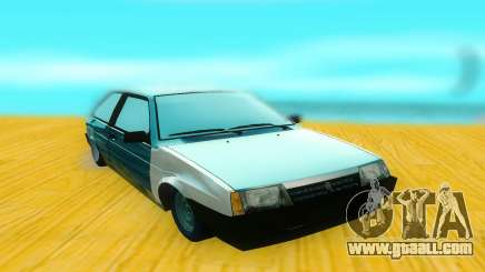 VAZ 2108 black for GTA San Andreas