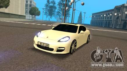 Porsche Panamera Turbo Armenian for GTA San Andreas