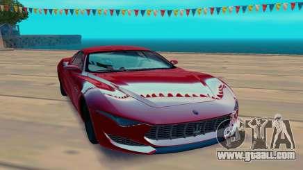 Maserati Alfieri Concept for GTA San Andreas