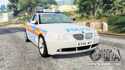 BMW 525d (E60) Metropolitan Police [replace] for GTA 5