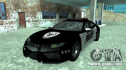 Lamborghini Estoque Concept NFS Police Custom for GTA San Andreas