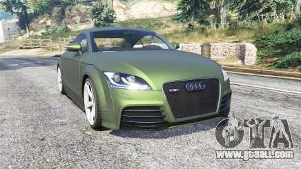 Audi TT RS (8J) 2013 v1.1 [replace] for GTA 5