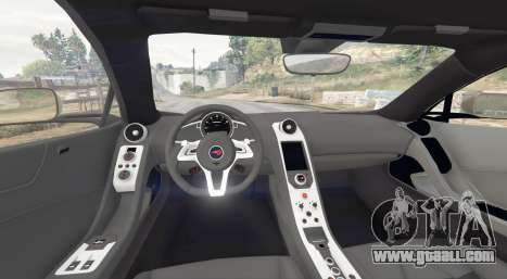 GTA 5 McLaren MP4-12C 2011 v1.1 [replace] rear right side view
