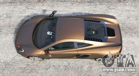 GTA 5 McLaren MP4-12C 2011 v1.1 [replace] back view
