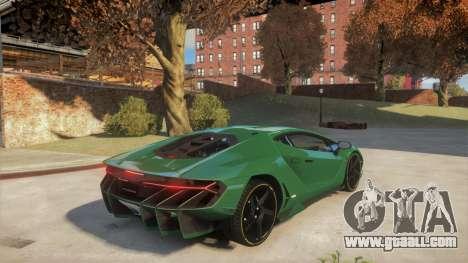 Lamborghini Centenario LP770-4 v2 for GTA 4