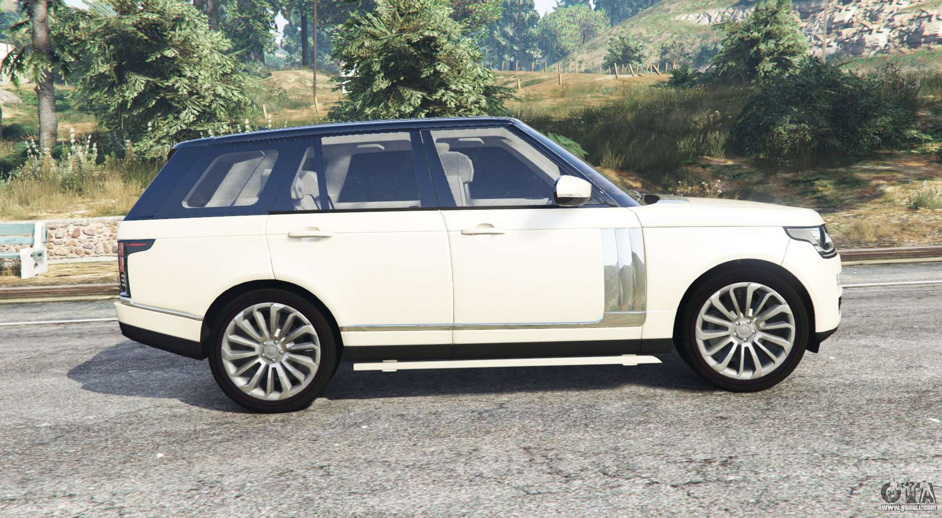 land rover range rover vogue 2013 v1 3 replace for gta 5. Black Bedroom Furniture Sets. Home Design Ideas