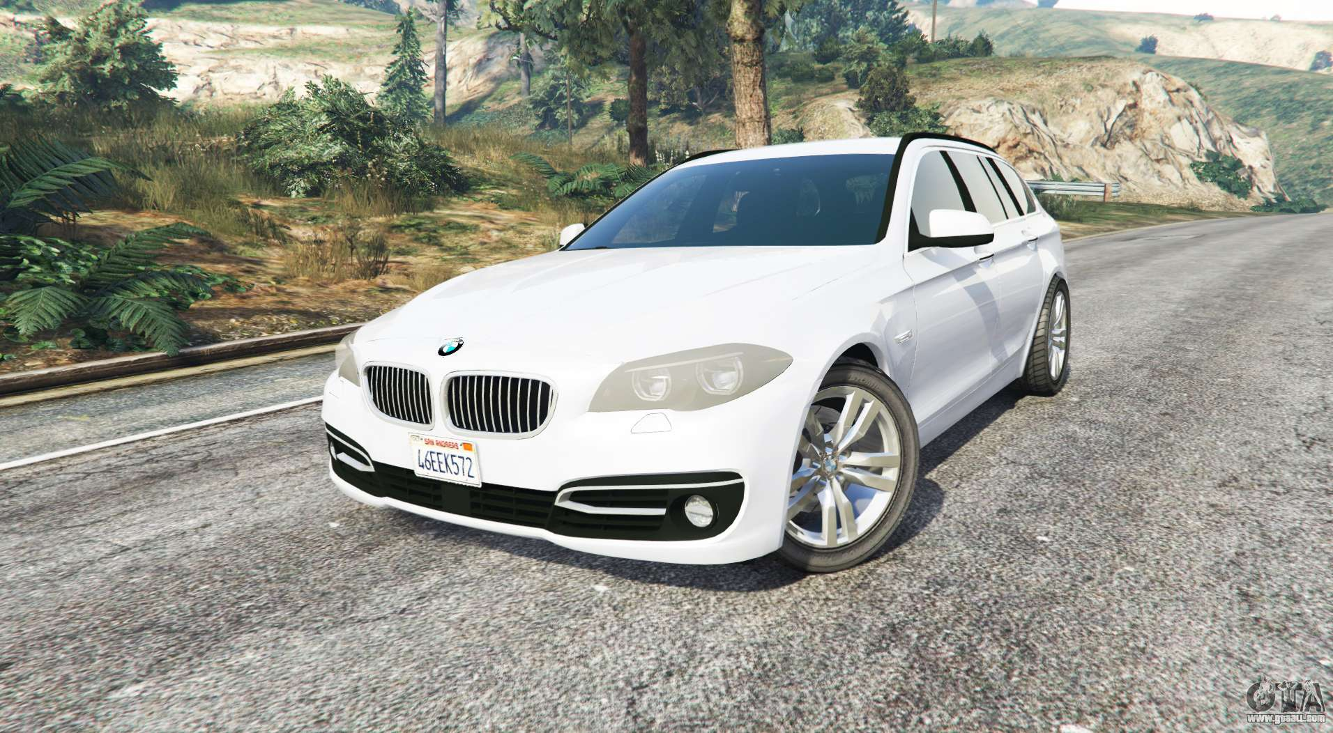 bmw 525d touring f11 2015 us v1 1 replace for gta 5. Black Bedroom Furniture Sets. Home Design Ideas