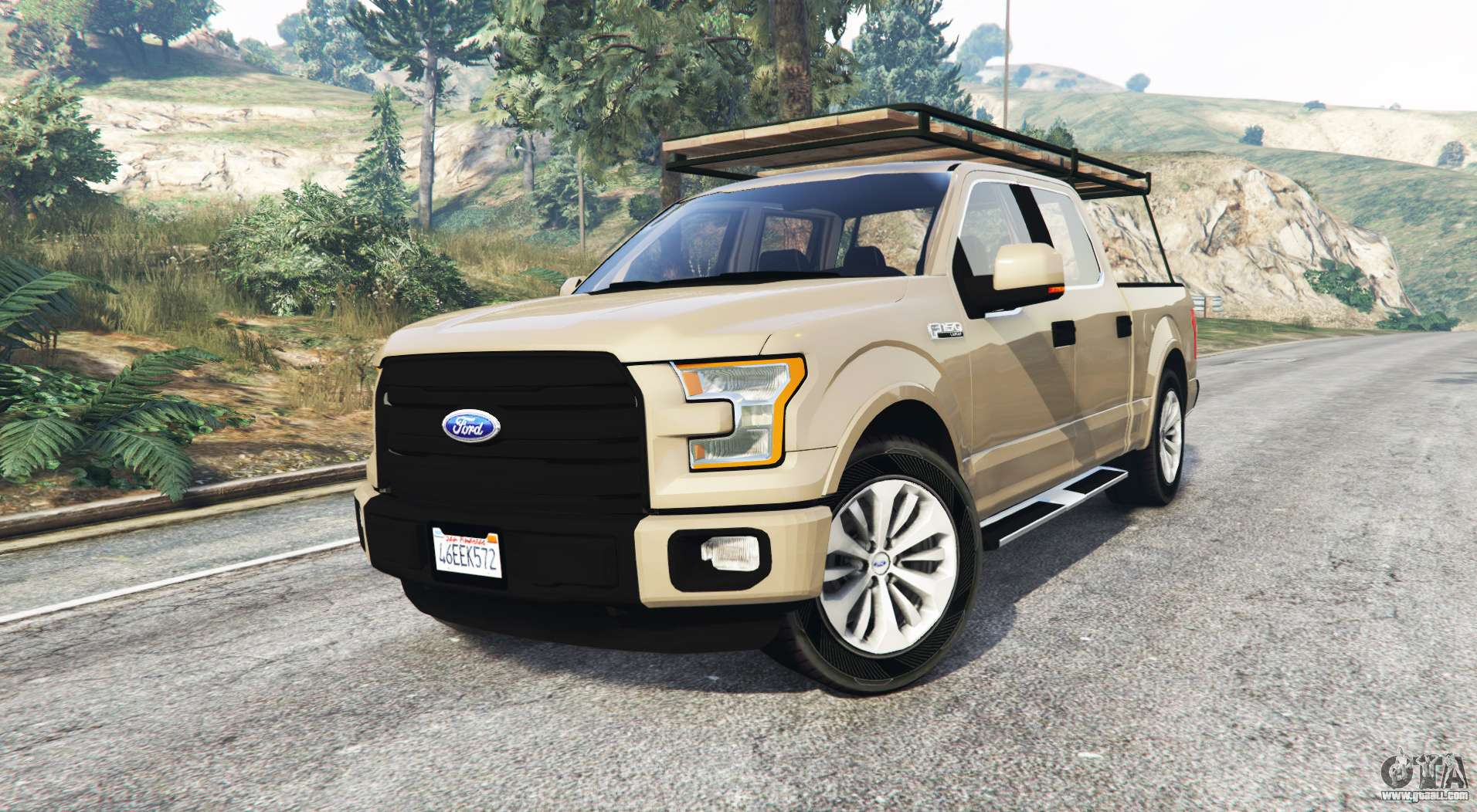 ford f 150 lariat supercrew 2015 v1 1 replace for gta 5. Black Bedroom Furniture Sets. Home Design Ideas
