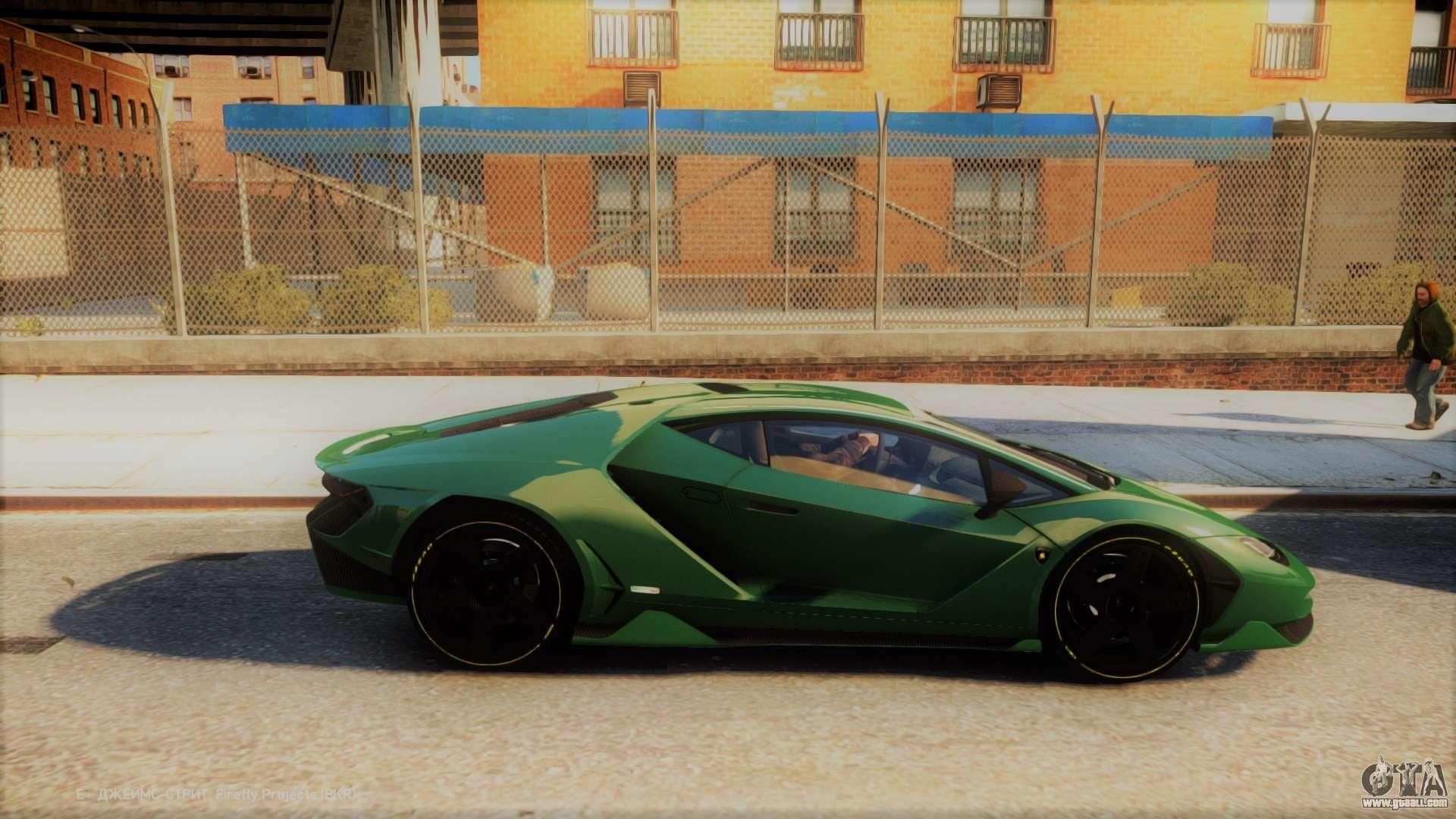 Lamborghini Centenario Lp770 4 V2 For Gta 4