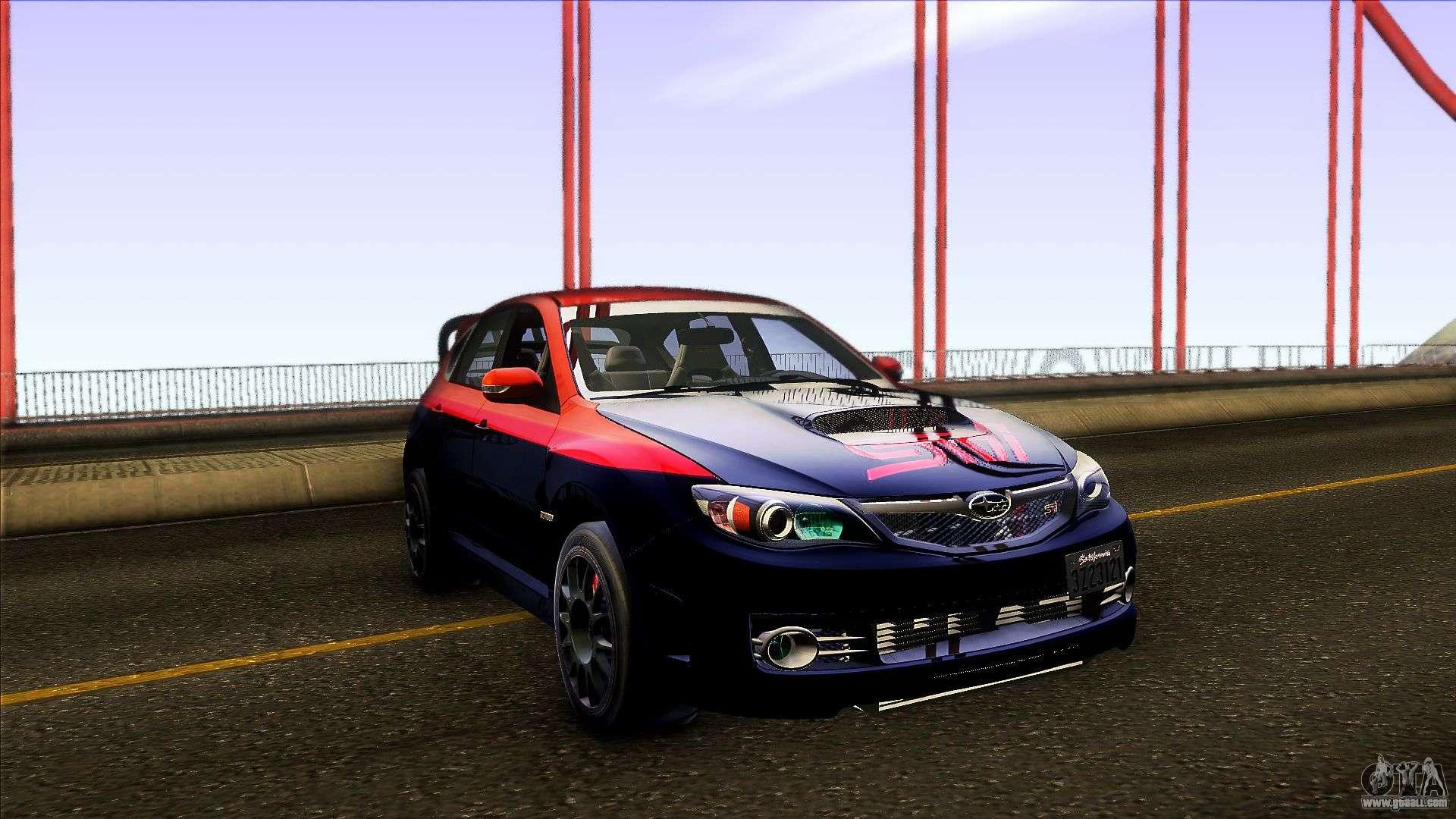 Subaru Impreza WRX STi Twin Turbo for GTA San Andreas