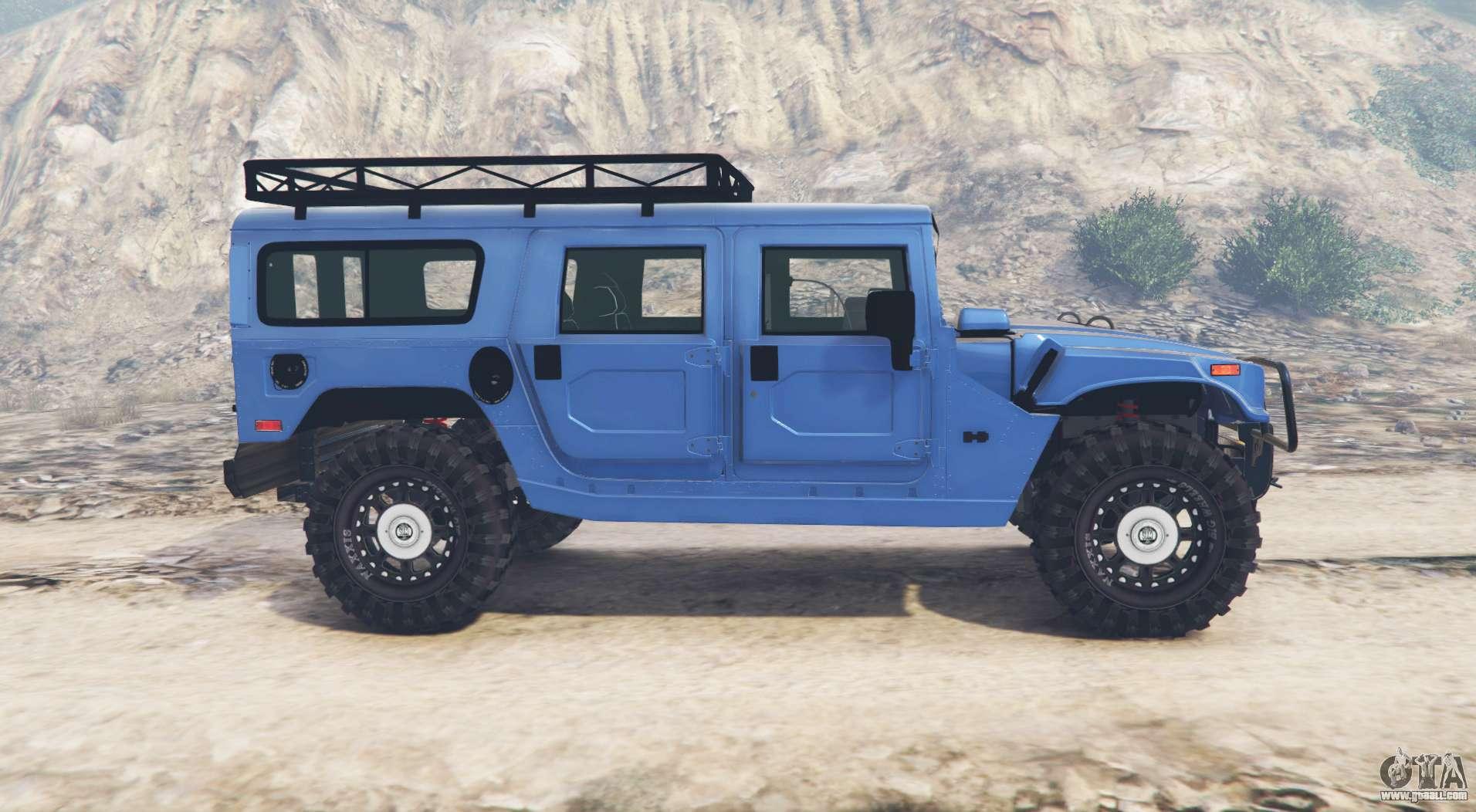 hummer h1 alpha wagon v2 1 replace for gta 5. Black Bedroom Furniture Sets. Home Design Ideas