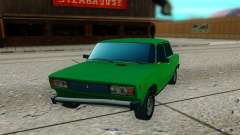 VAZ 2105 green for GTA San Andreas