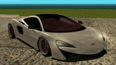 McLaren 570GT for GTA San Andreas