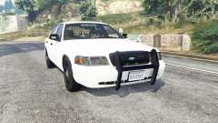 Ford Crown Victoria Unmarked CVPI v2.0 [replace] for GTA 5