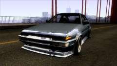 Toyota Trueno AE86 1986 for GTA San Andreas
