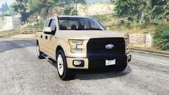 Ford F-150 Lariat SuperCrew 2015 v1.1 [replace] for GTA 5