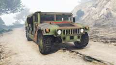 HMMWV M-1116 Unarmed Woodland [replace] for GTA 5