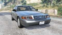 Ford Crown Victoria 2001 police [replace] for GTA 5
