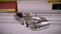 Nissan 240SX silver for GTA San Andreas