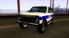 Lada Niva 4X4 Policija Republika Srpska for GTA San Andreas