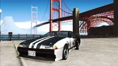 Elegy Paint Job Darker Than Black for GTA San Andreas