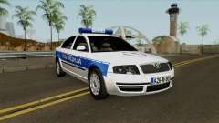 Skoda SuperB Policija Republike Srpske for GTA San Andreas