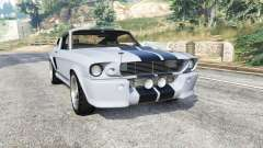 Ford Shelby Mustang GT500 Eleanor 1967 [replace] for GTA 5