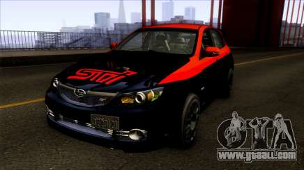 Subaru Impreza WRX STi Twin Turbo for GTA San Andreas