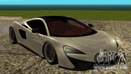 McLaren 570GT for GTA San Andreas
