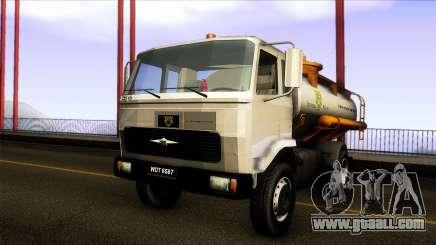 FAP Vacuum Sewage Truck Harimau Water Konsortium for GTA San Andreas
