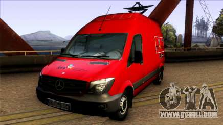 Mercedes Benz Sprinter Radio-televizija Vojvodin for GTA San Andreas
