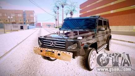 Mercedes-Benz G63 for GTA San Andreas