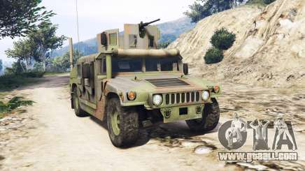 HMMWV M-1116 Woodland v1.1 [replace] for GTA 5